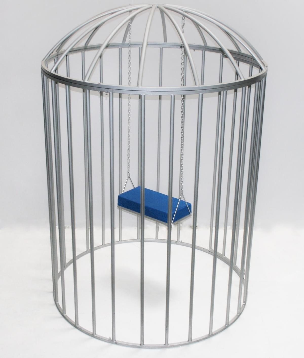 Round Dance Cage with Swing
