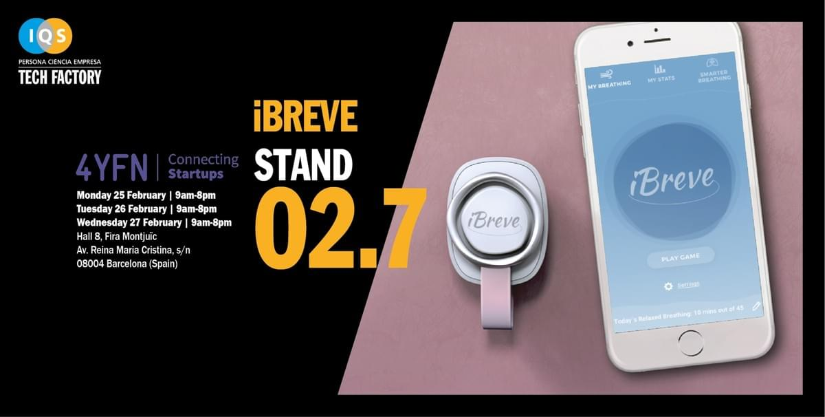 iBreve at Mobile World Congress and 4YFN in Barcelona. #MWC19 #4YFN #4YFN19