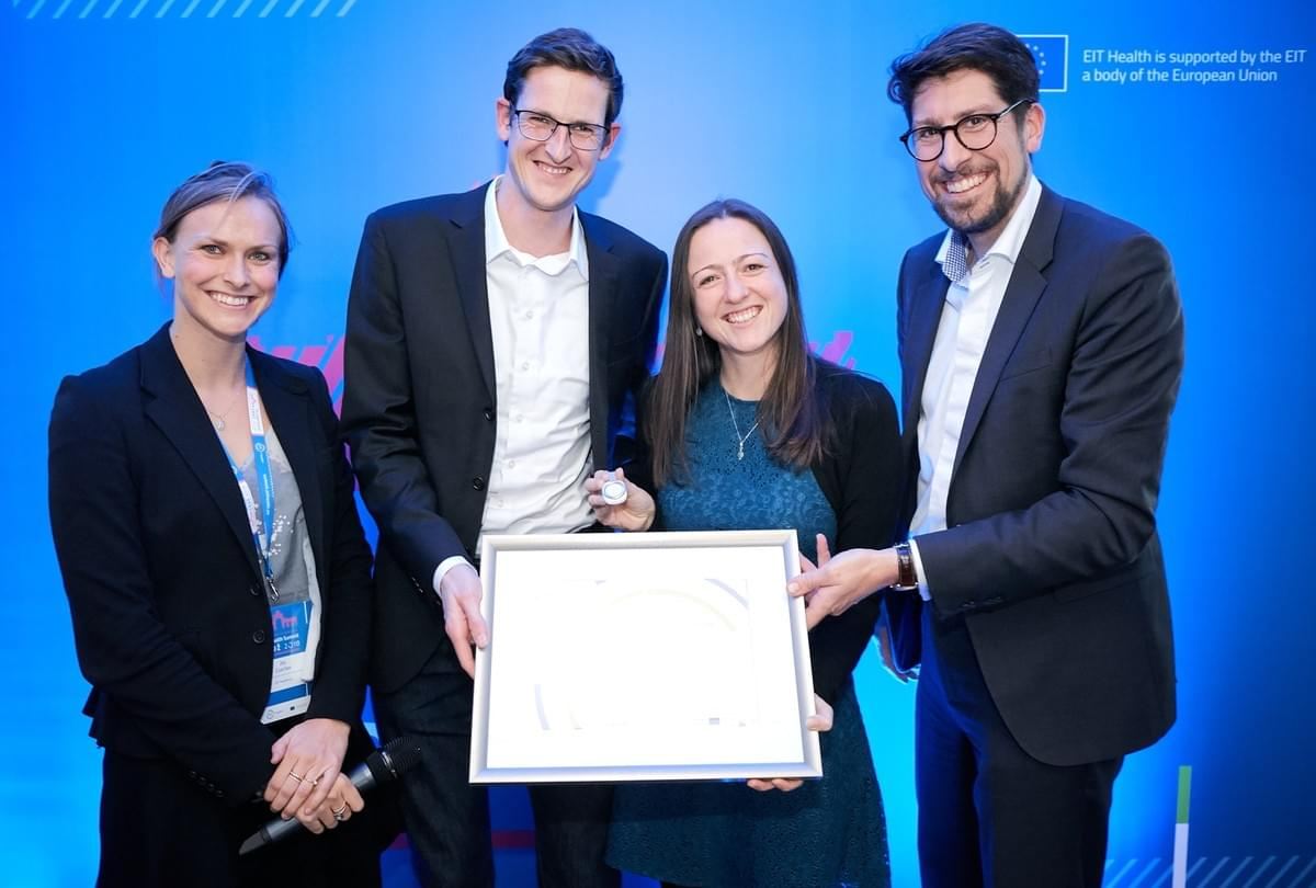 EIT Health awards iBreve. Among the top 7 digital health startups in Europe as part of the European Health Catapult.