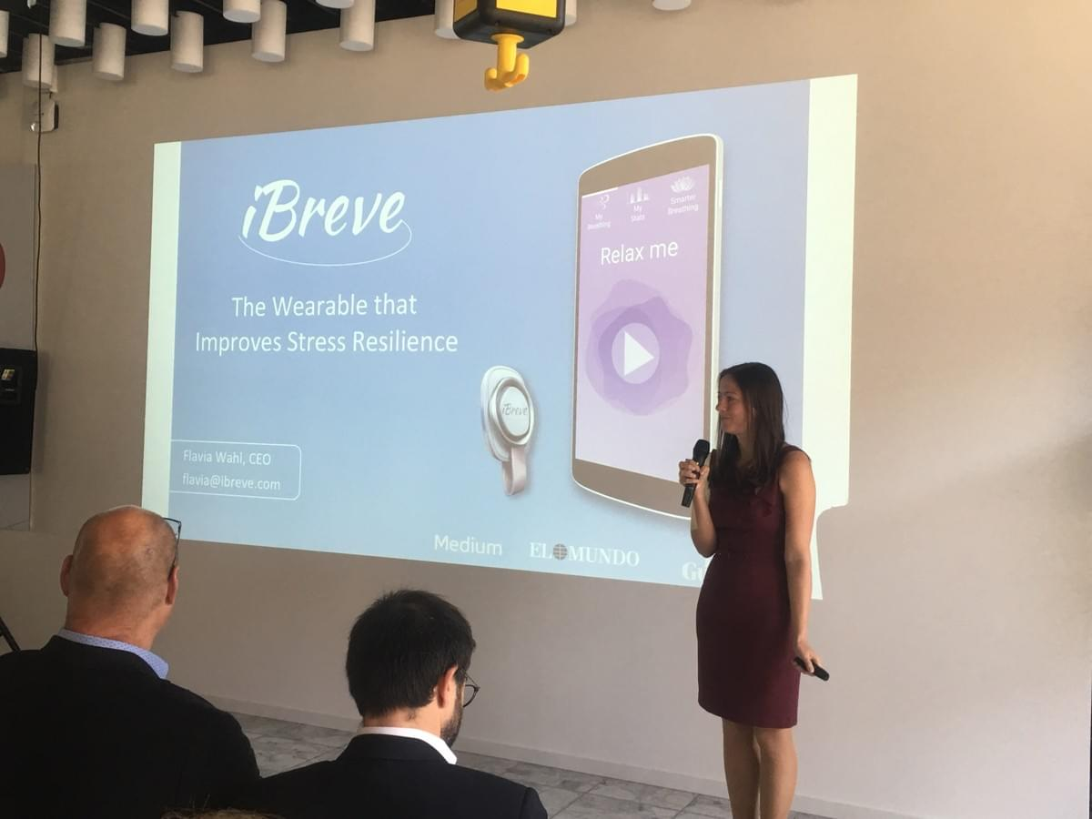 iBreve among the top European Health Catapult startups in digital health