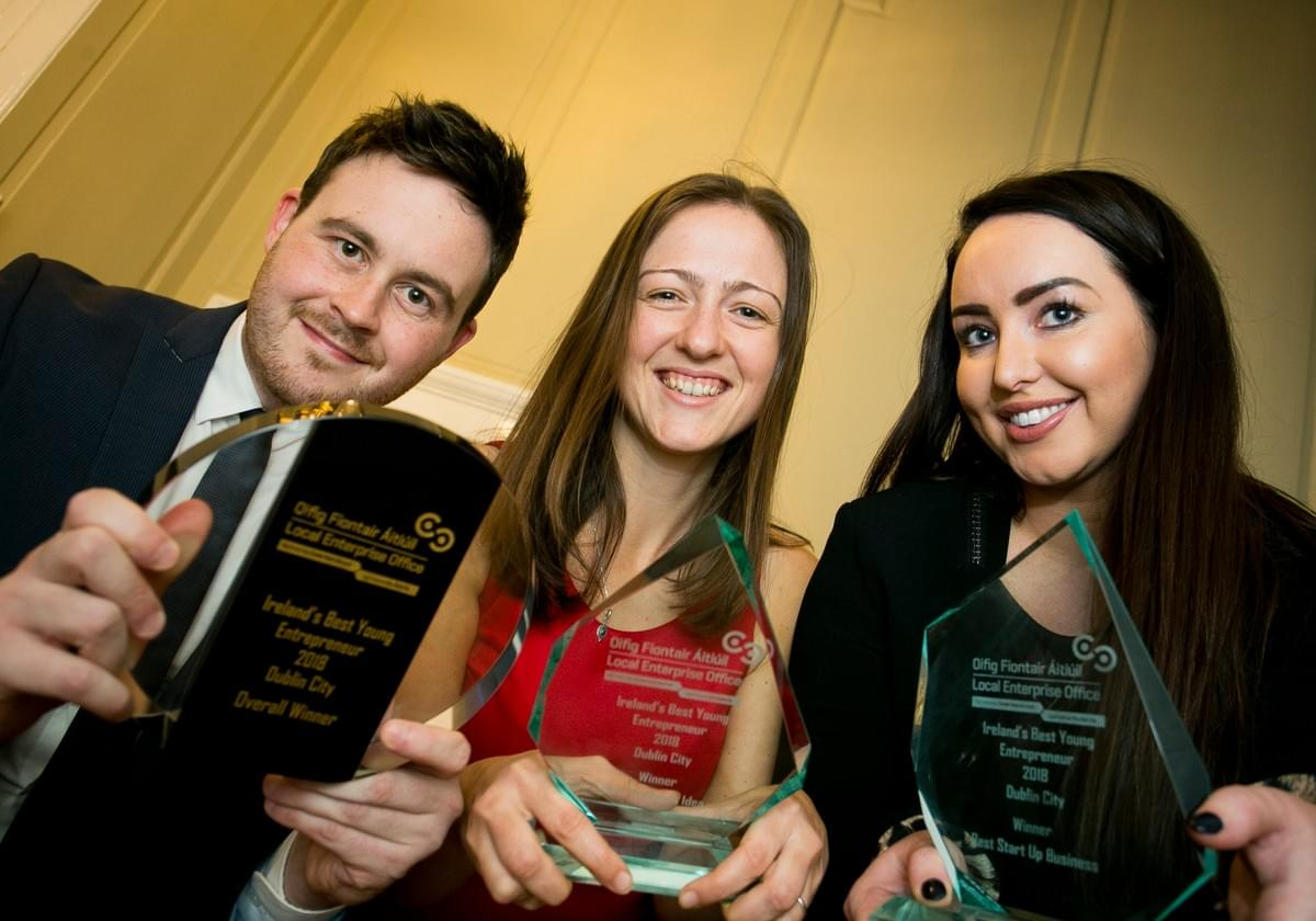 Flavia from iBreve awarded Ireland's Best Young Entrepreneur of the Year for Dublin City