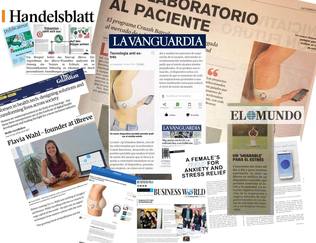 iBreve press coverage in large newspapers around the world. The Guardian, El Mundo, la Vanguardia, Business World
