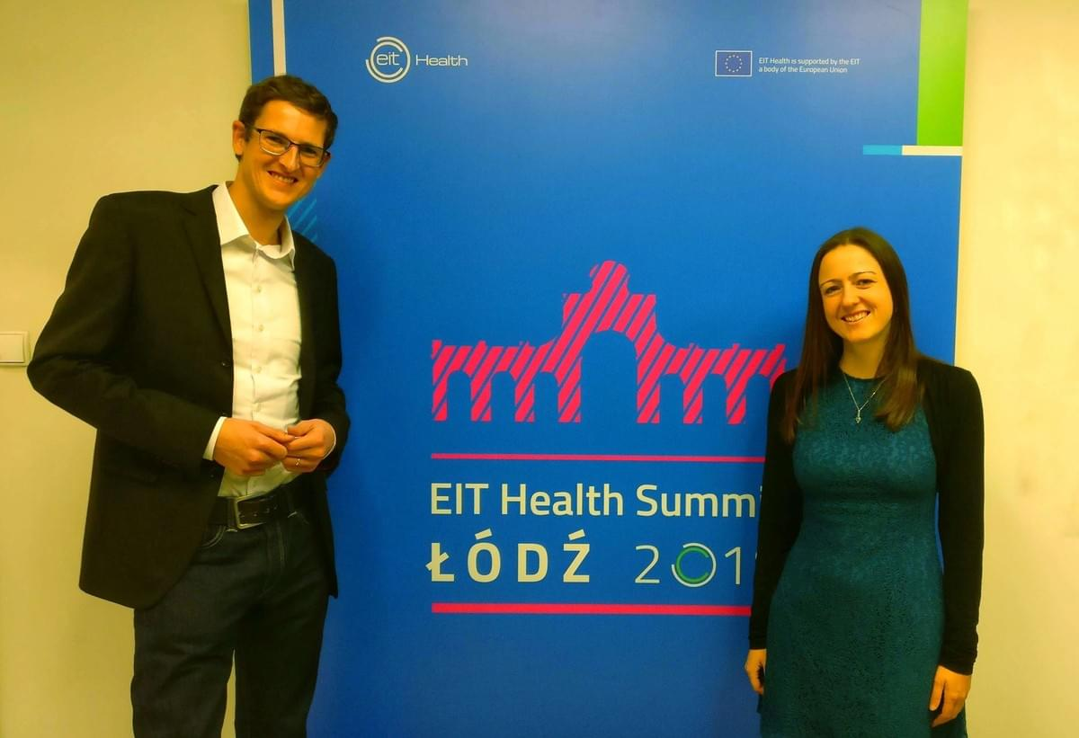 iBreve presenting at the EIT Health Summit in Poland
