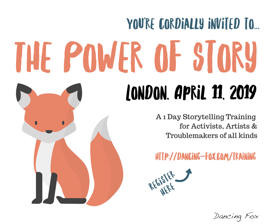 Registration for The Power of Story in London April 11 2019
