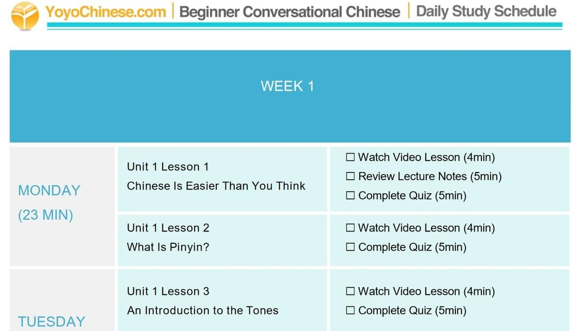 Review of Yoyo Chinese: Chinese courses from an English speaker's