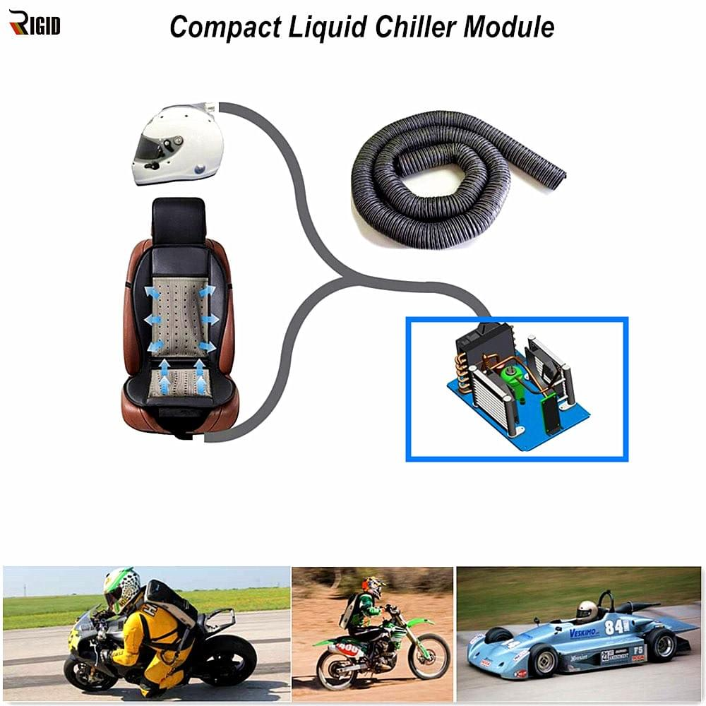 Compact  Liquid Chiller for body cooling - RIGID HVAC Cooling