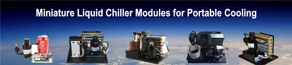 Micro Portable Cooling, DC 12V 24V 48V Condensing Units, DC Chiller Unit