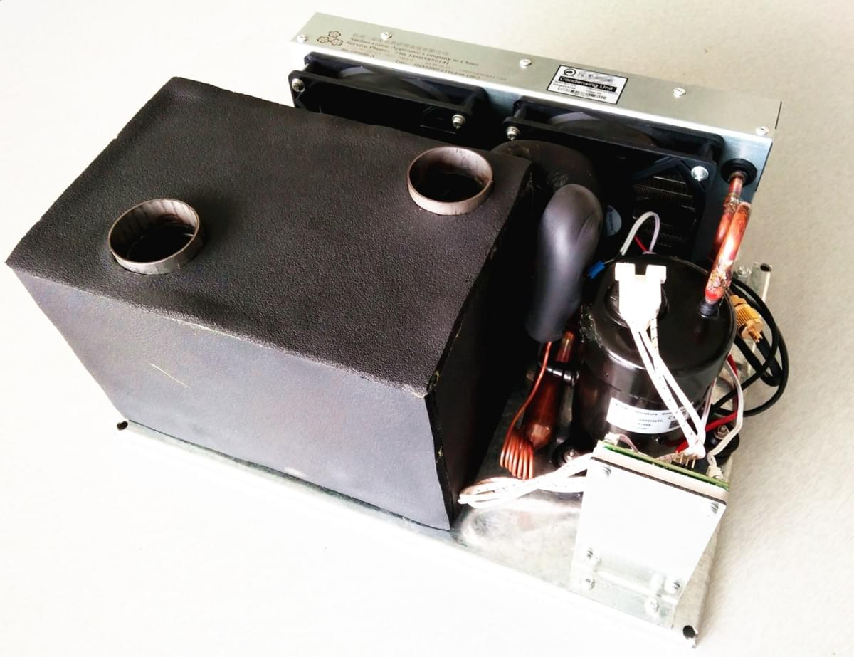Micro Dc Air Conditioner Small Cooling System Dc Cooling