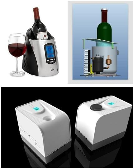 Mini chiller for Wine Cooling