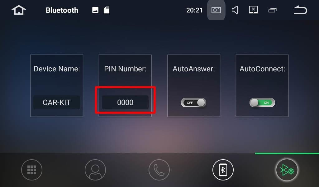 How to pair OBD II with Corehan Android stereo?