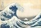 Representation of The Great Wave