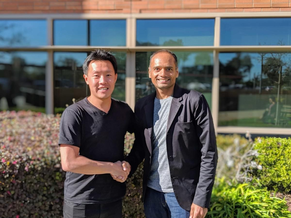 1. (Left to right) Henry Chan, CEO of ShopBack with new board member Amit Patel, CEO of Ebates, Inc. a Rakuten company