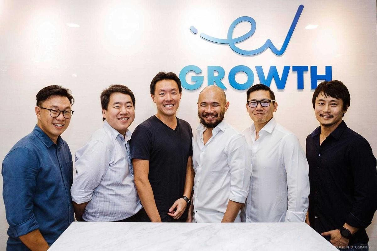 2. (1st from left) New board member Willson Cuaca, Managing Partner of EV Growth with  (3rd from left) Henry Chan, CEO of ShopBack