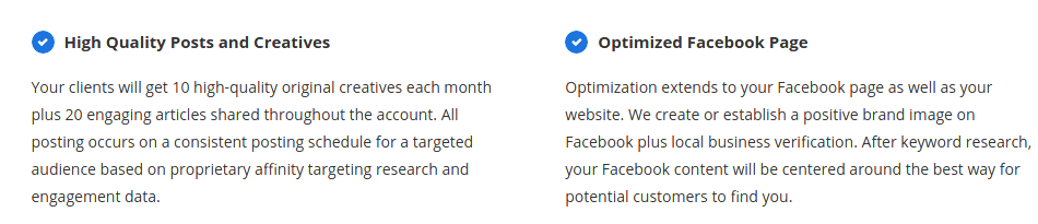 Optimized Facebook MisBiz Pro