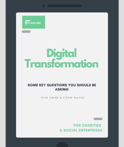Subscribe to receive our digital transformation questions for charities and social enterprises
