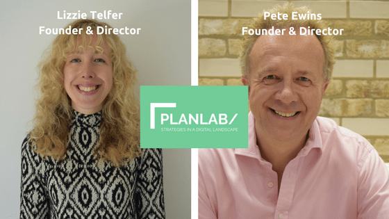Lizzie and Pete Directors of PlanLab