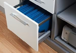 Office Drawers at Ashleys of Frinton