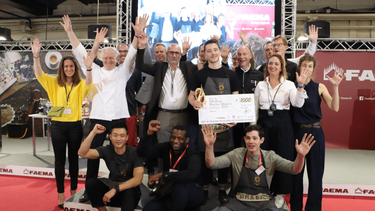 Meilleur Barista Master France 2019 lors du Paris Coffee Show