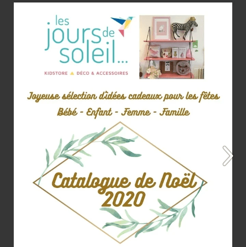Catalogue de noel 2020