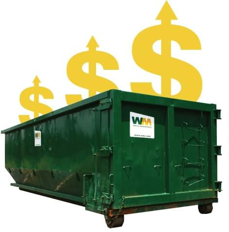 waste management increased price