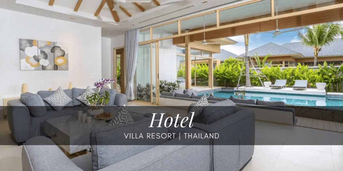 Himapan creations for all the luxurious pool villas in Phuket.