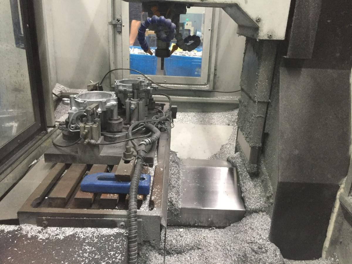 CNC Milling machine for machining