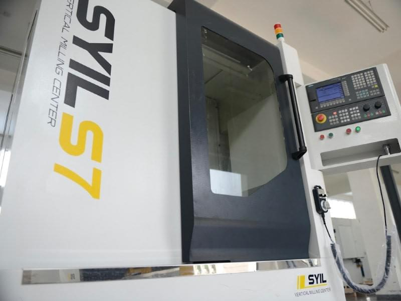 small CNC machining center