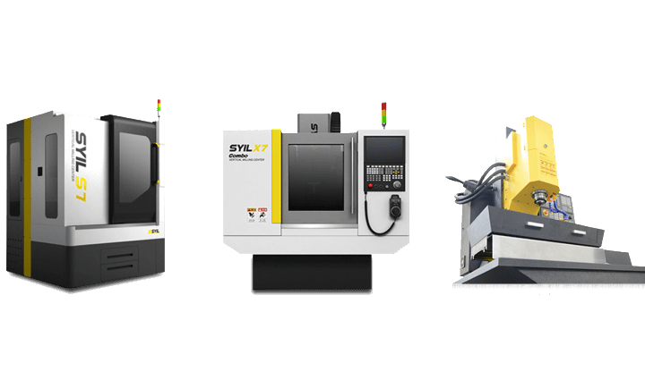 Small CNC Mill - SYIL X7 small CNC machine