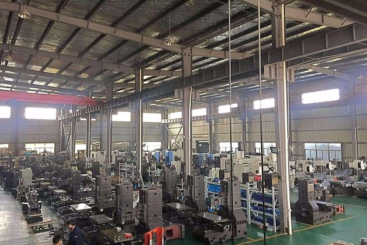 SYIL Shanghai CNC Machines Factory