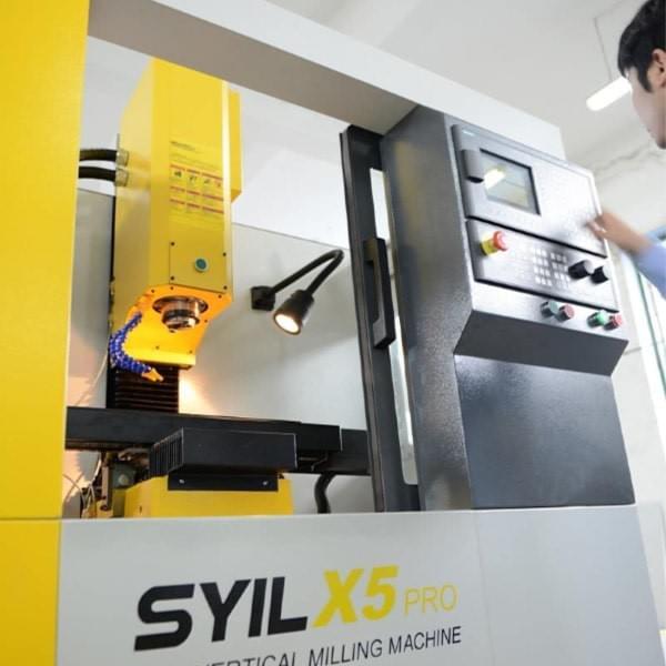 Mini CNC Mill | Best Benchtop CNC Milling Machine | SYIL 5
