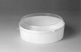 Circle - Wood Disposable Container