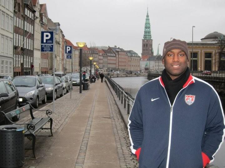 Jonathan Cambry in Denmark, Europe