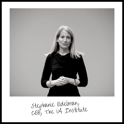 Stephanie Eidelman, CEO of the iA Institute