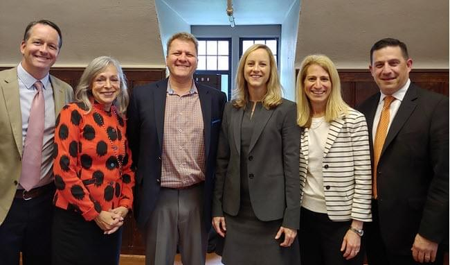 Members of the Consumer Relations Consortium with CFPB Director Kathy Kraninger