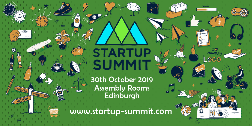 Startup Summit - 30th October 2019 - Assembly Rooms, Edinburgh - www.startup-summit.com