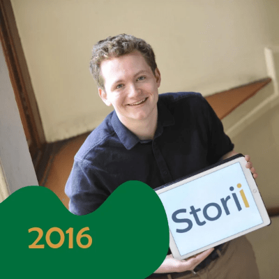 2016 winner - Cameron Graham, Storii Care