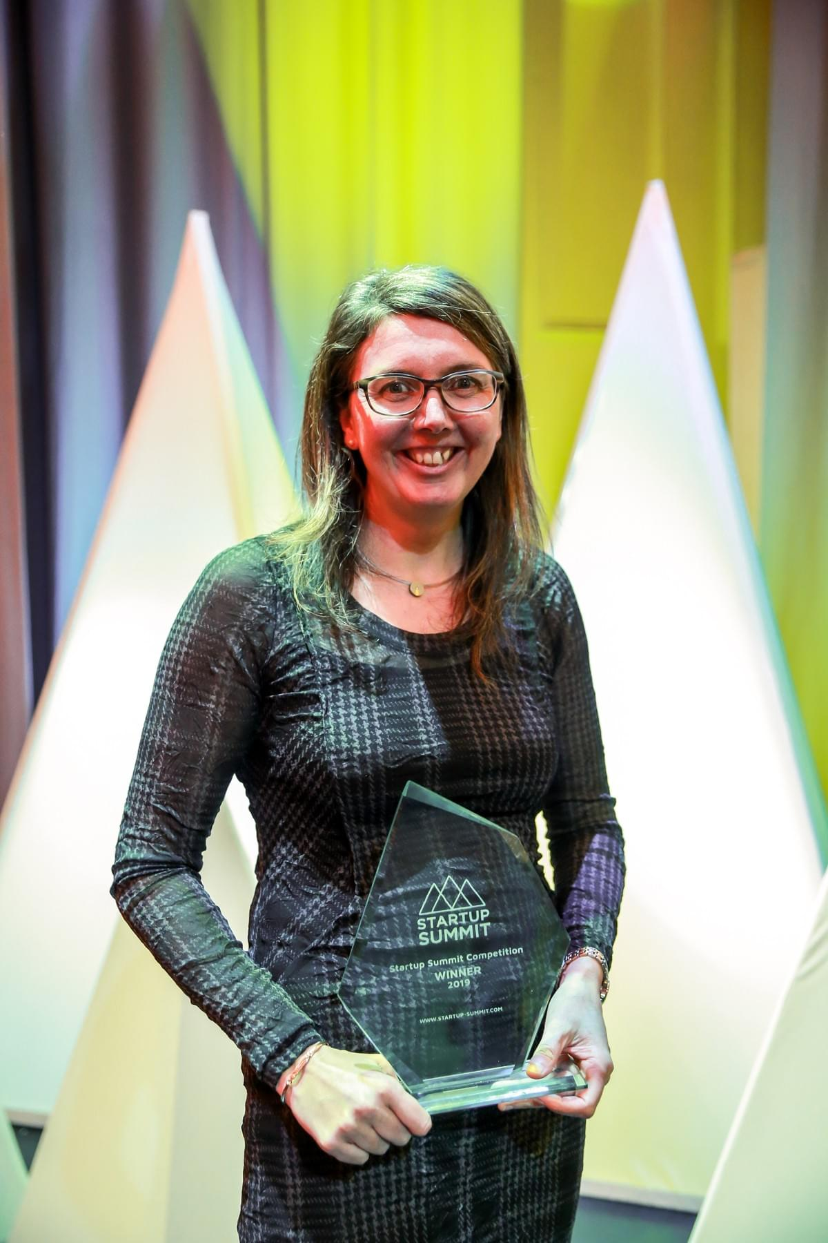 Startup Summit Competition 2019 winner: Dr Elizabeth Fairley, Co-founder & COO, Talking Medicines