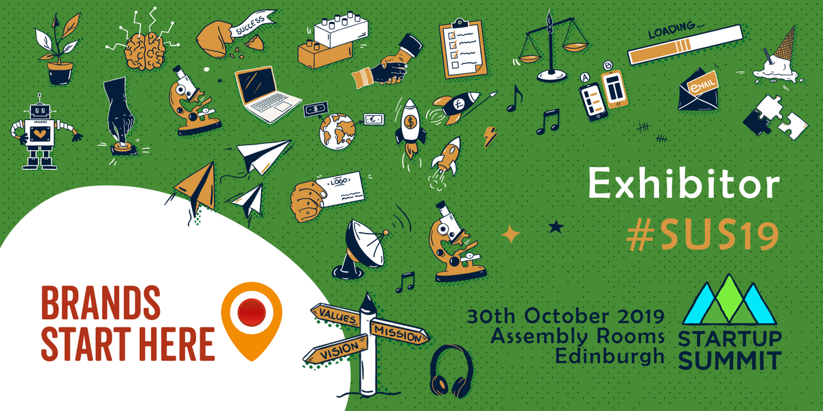 Exhibitor image: Brands Start Here, #SUS19, 30th October 2019, Assembly Rooms, Edinburgh