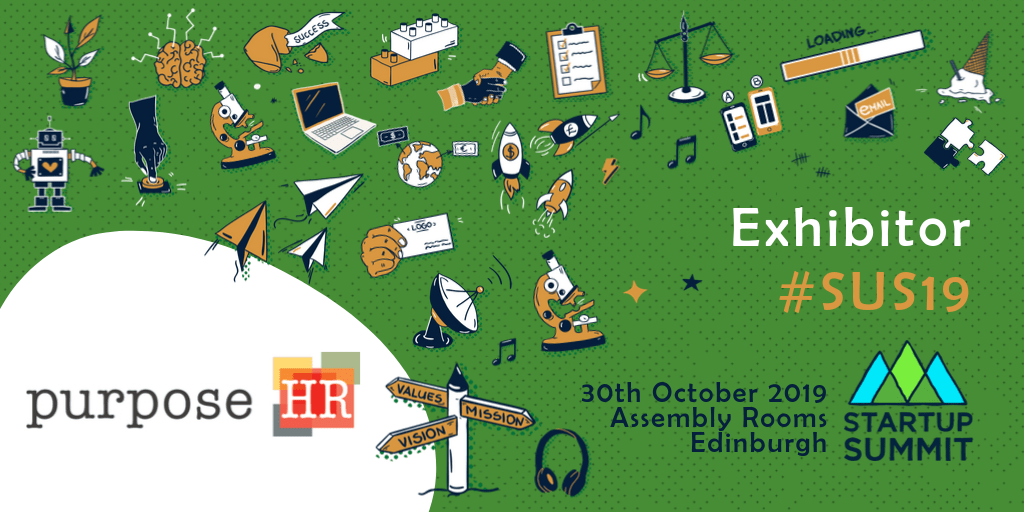 Image: PurposeHR, Exhibitor, #SUS19 - 30th October 2019, Assembly Rooms, Edinburgh