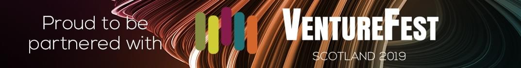 Proud to be partnered with VentureFest Scotland 2019