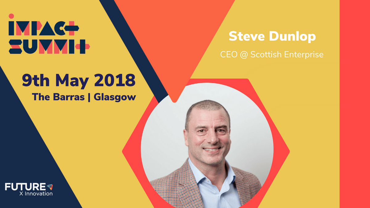 Impact Summit - Speaker - Steve Dunlop - Scottish Canals - Scottish Enterprise