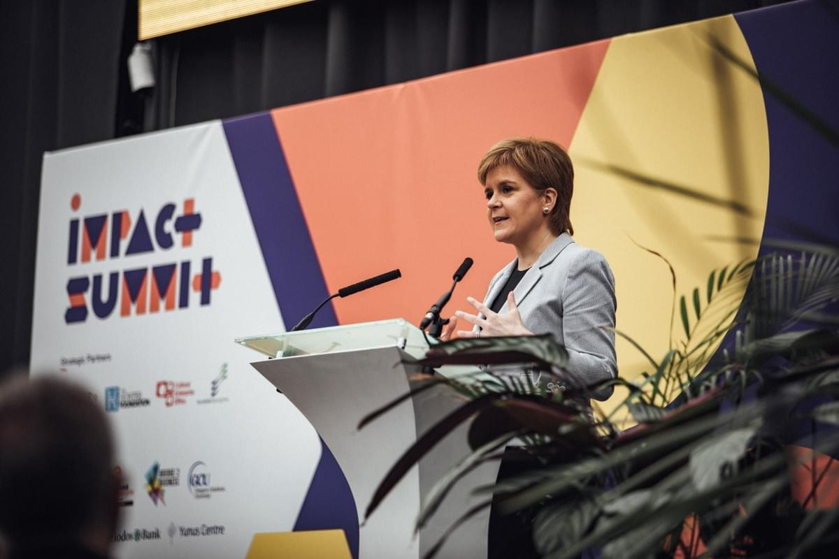 Nicola Sturgeon, First Minister at Impact Summit 2018