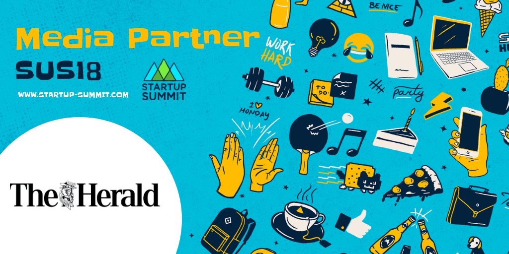 Media Partner SUS18:  The Herald | Startup Summit | www.startup-summit.com