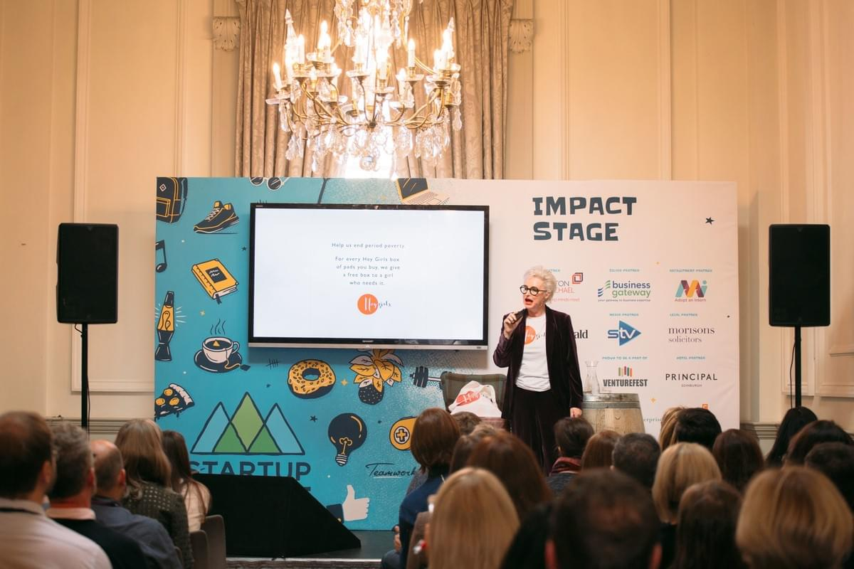 Celia Hodson - Hey Girls - Impact Stage - Startup Summit 2018