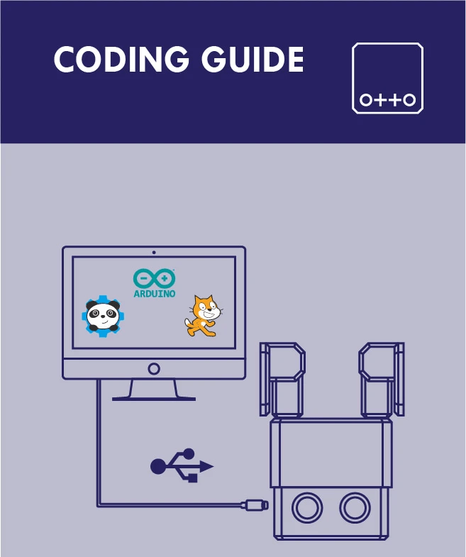 Otto DIY instruction manual coding guide