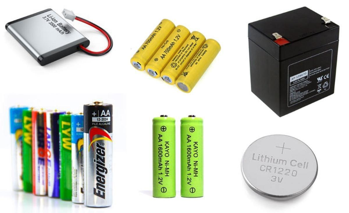 Different Types of Batteries and Their Applications