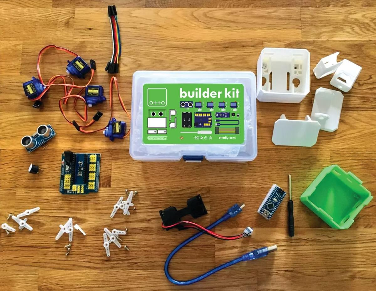 Otto DIY builder kit unboxing