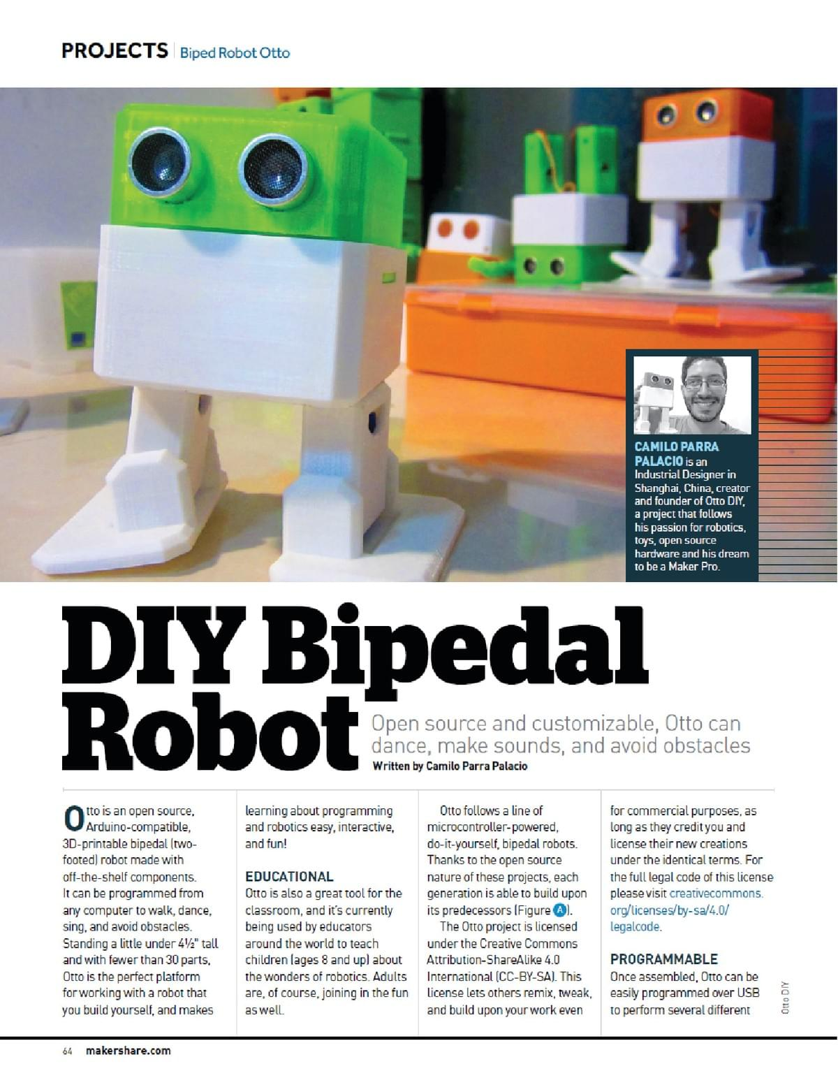 Otto DIY maker faire magazine