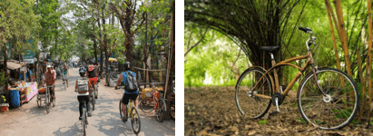Cycling tour in Yangon