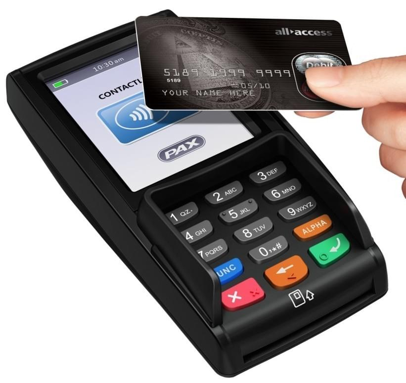 PAX S300 multilane integrated retail payment terminal
